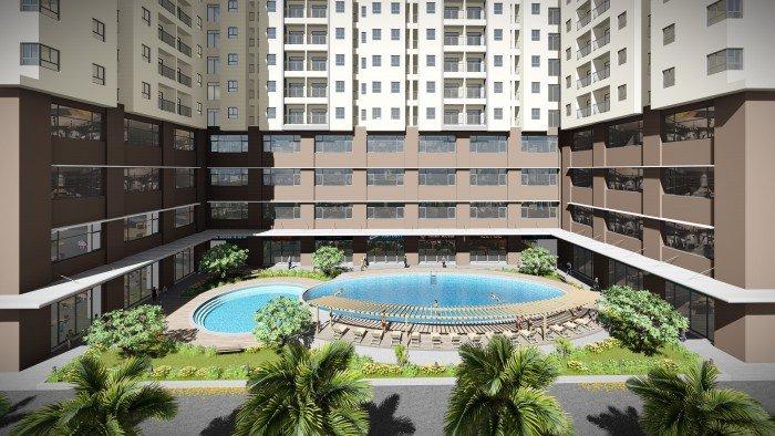 Hot!!!! Hot!!!!!!Bán căn hộ chung cư Kingsway Tower ở Bình Tân, gần Aeon Mall Tân Phú, giá chỉ 868 triệu/căn( 2PN + 2WC)