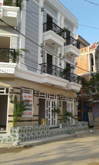 Bán nhà, Huỳnh Tấn Phát, Nhà Bè, DT 3x8m,1 trệt 2 lầu 4 phòng ngủ. Giá 950 triệu