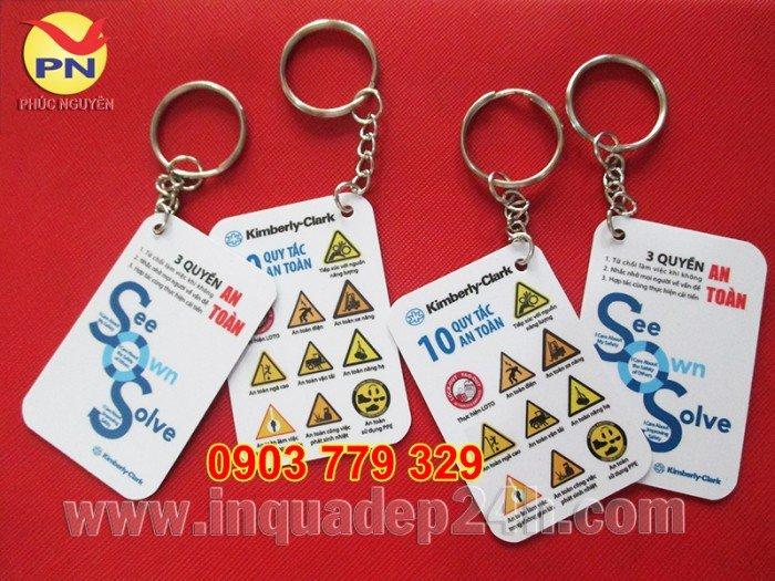 Xưởng sản xuất móc khóa, móc khóa mica, in móc khóa quà tặng giá rẻ2