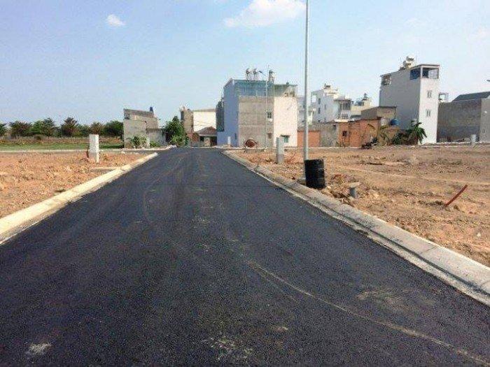 Đất khu đô thị mới, đường nhựa 12m, SHR, trả góp 0% lãi suất