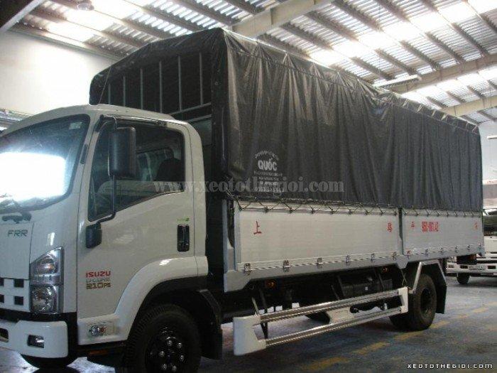 Bán xe tải Isuzu 6 Tấn Frr90n 6t2 190ps thùng mui bạt 1