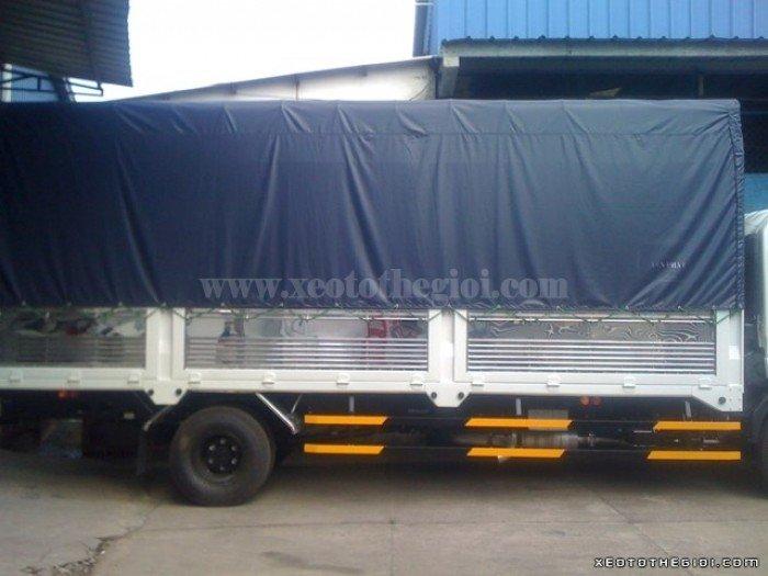 Bán xe tải Isuzu 6 Tấn Frr90n 6t2 190ps thùng mui bạt 2