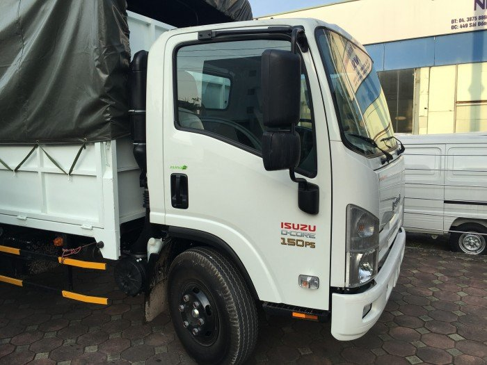 Bán xe tải Isuzu 6 Tấn Frr90n 6t2 190ps thùng mui bạt 3