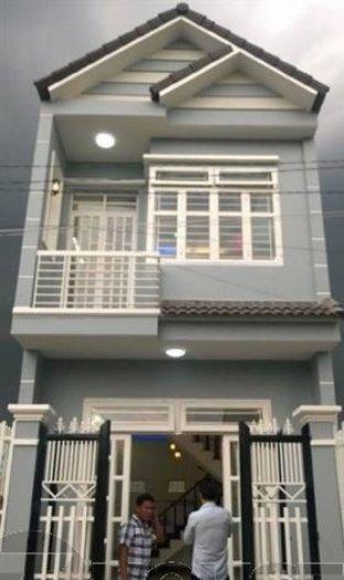 Nhà mới đường Quách Điêu 4.4x12m 1lầu 1trệt
