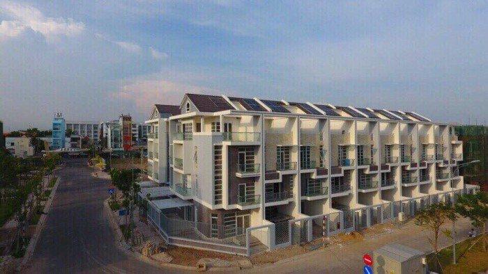 Nhà phố, Biệt thự mặt tiền Bùi Văn Ba - DT: 104M2 - Thanh toán hấp dẫn chỉ 35%