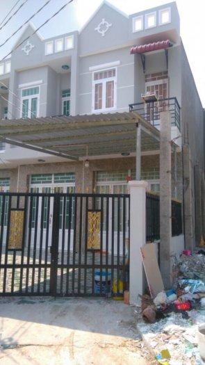 Nhà mới xây DT 4 x 15m 1 trệt 1 lầu SHR_ QL50 ngã 3 Tân Kim