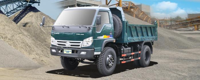 Bán xe ben Thaco Trường Hải tải trọng 990kg đến 20 tấn, giá ưu đãi hỗ trợ vay vốn lên tới 80%. 3 chân , 4 chân , 5 chân 2