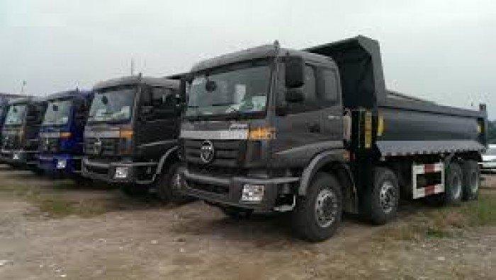 Bán xe ben Thaco Trường Hải tải trọng 990kg đến 20 tấn, giá ưu đãi hỗ trợ vay vốn lên tới 80%. 3 chân , 4 chân , 5 chân 3