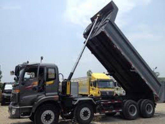 Bán xe ben Thaco Trường Hải tải trọng 990kg đến 20 tấn, giá ưu đãi hỗ trợ vay vốn lên tới 80%. 3 chân , 4 chân , 5 chân 4