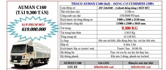 Giá Đầu kéo, tải nặng Hyundai, Auman, Thaco đời 2017, 2016, 2015. Giá ưu đãi 3