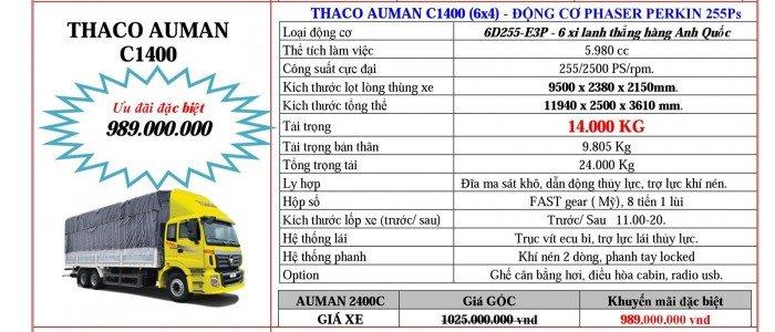 Giá Đầu kéo, tải nặng Hyundai, Auman, Thaco đời 2017, 2016, 2015. Giá ưu đãi 5