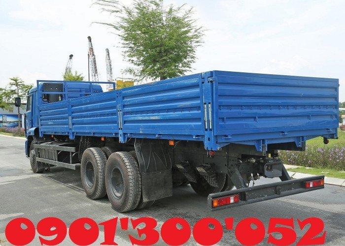 Giá xe tải Kamaz 3 chân 14 tấn/ 14t, xe tải Kamaz 65117 14 tấn khuyến mãi