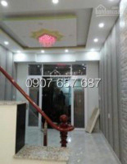 Bán nhà giá rẻ nhất khu vực, 3 tầng, 4 phòng ngủ, DT 130m2, giá 1.89 tỷ, đường Huỳnh Tấn Phát, Nhà Bè