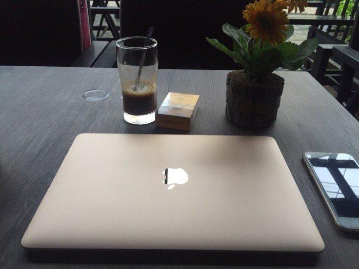 The New Macbook 12inch MLHE2 Gold - Model 2016 Còn Bảo Hành đến 20181