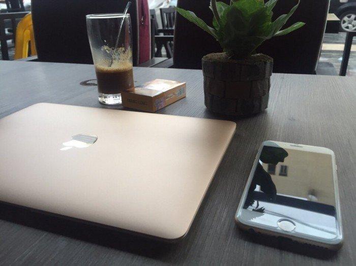 The New Macbook 12inch MLHE2 Gold - Model 2016 Còn Bảo Hành đến 20182