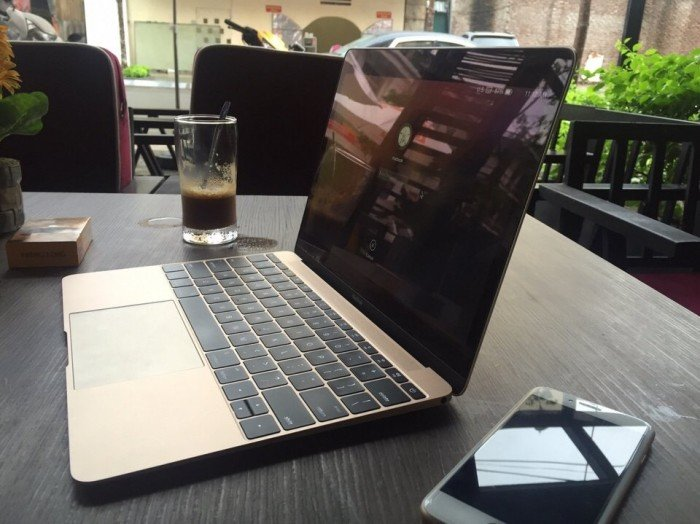 The New Macbook 12inch MLHE2 Gold - Model 2016 Còn Bảo Hành đến 20183
