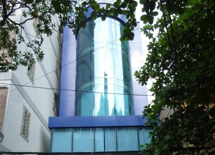 Tôi bán tòa nhà tại Triệu Việt Vương 165m, 10 tang, mt 7m. Thiết kế hiện đại