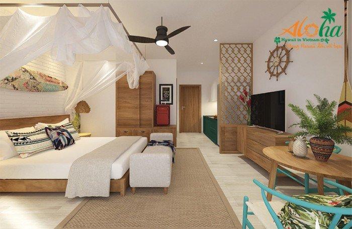 Mở bán căn hộ condotel aloha village tại bình thuận, giá từ 850 triệu