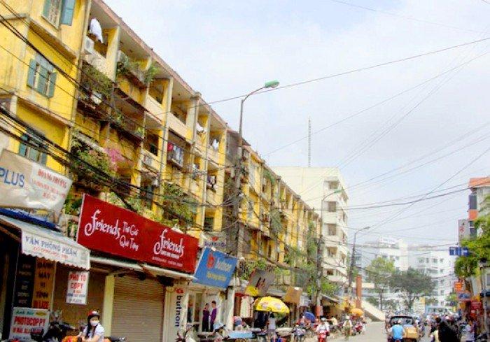 Cho thuê căn hộ tập thể tầng 3 khu B Giảng Võ 62m2,2PN (5,5 triệu/tháng)