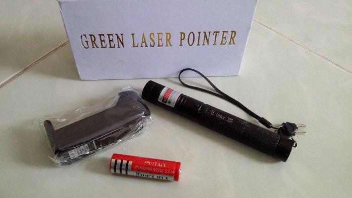 Đèn Laser Xanh 3030