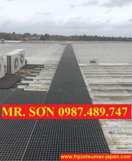 sàn lót trên mái nhà2