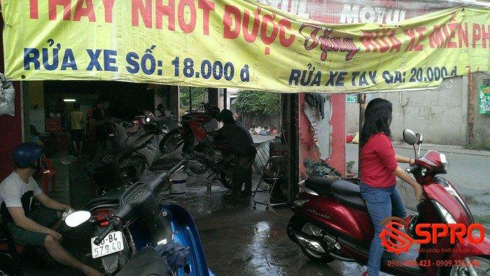 Mở tiệm rửa xe máy ô tô - Đầu tư thu lợi nhuận cao năm 2020