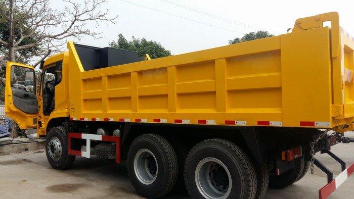 Xe tải ben tự đổ 3 chân Dongfeng tải trọng 13.345kg 1
