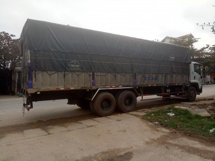 Cần bán xe Isuzu 15 tấn đăng ký năm 2015
