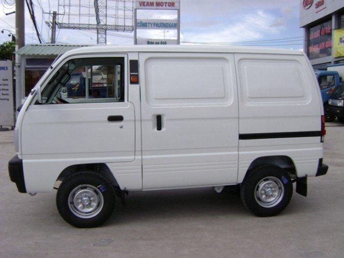 Bán xe Suzuki Blind Van trắng 2017, Xe tải Su cóc.