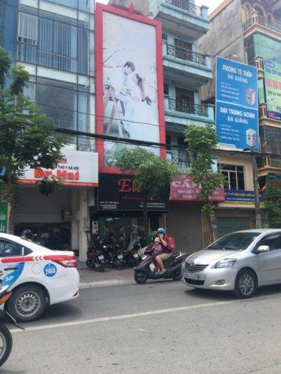 Bán nhà mặt phố Kim Giang, Hoàng Mai, nhà phố, vỉa hè rộng giá rẻ