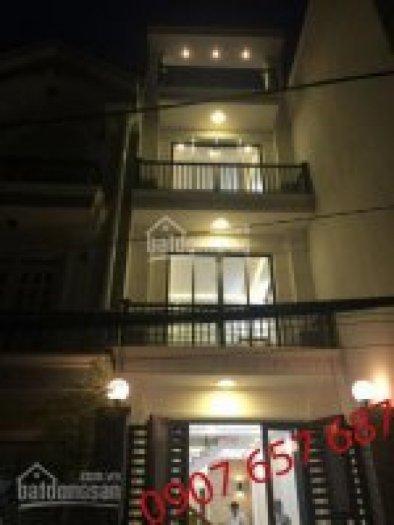 Bán nhà giá ưu đãi, DT 4m x 13.5m, 1 trệt, 2 lầu, 2 sân thượng, phòng thờ, giá 2,65 tỷ