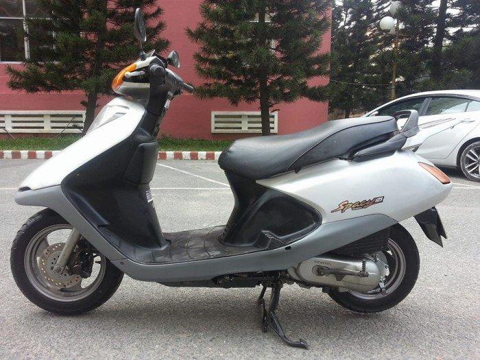 Honda Spacy 100 Xám Bạc Tuyệt Đẹp Xe Cọp Chạy Cực Ngon