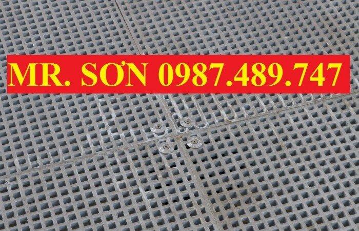 tấm sàn lưới sợi thủy tinh9