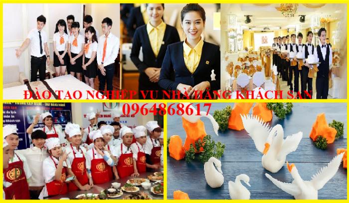 đào tạo ngiệp vụ nhà hàng khách sạn