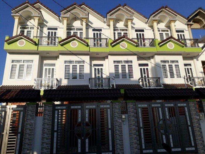 Nhà Vườn Lài nối dài, phường An Phú Đông, DT 4m X 19m. đường xe tải