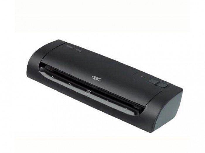 Thông số kỹ thuật: Kích cỡ giấy ép: Mọi kích cỡ từ thẻ CMND cho đến cỡ giấy A4 Độ dày giấy ép (mic): 2x75 Tốc độ ép (mm/ phút): 330 Số Rulô: 2 Miệng ép tối đa (mm): 241 Trọng lượng (Kg): 1.518 Kg Thời gian khởi động (phút) : 5 Kích cỡ (mm): 149 x 410 x 1200
