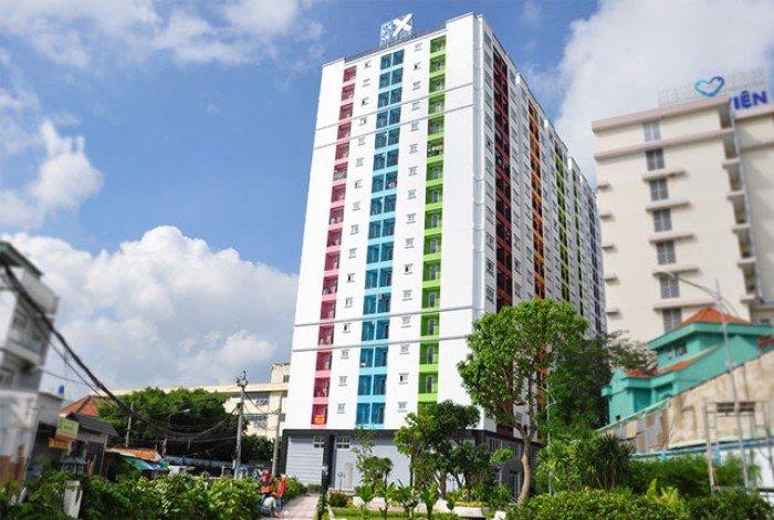 Cho thuê chung cư 8X plus Trường Chinh 63m2, 2PN,2WC giá 6tr/th.