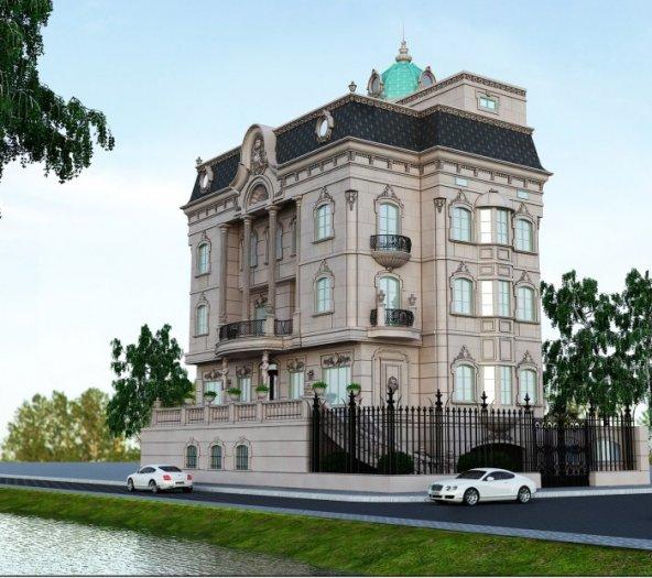 Bán nhà biệt thự mặt tiền 12x22m 5 tầng khu biệt thự Cư Xá Tự Do, P.7, Q.Tân Bình