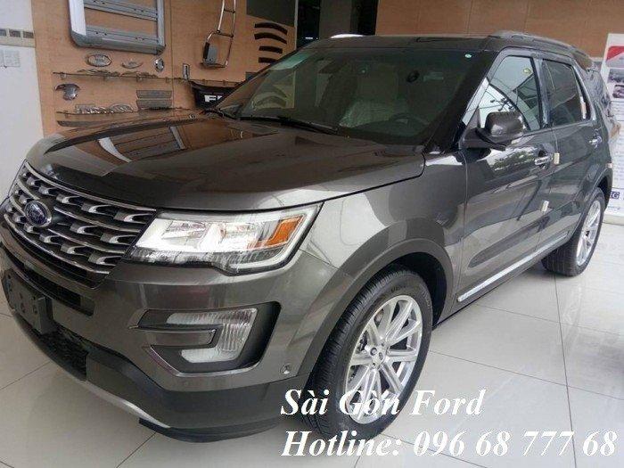 Mua Ford Explorer giá rẻ tại Tiền Giang, trả góp lãi suất thấp, giao xe nhanh 0