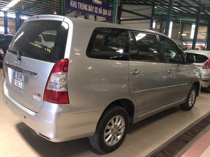 Bán Toyota Innova sx 2014 bstp ghi bạc 1