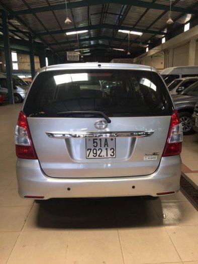 Bán Toyota Innova sx 2014 bstp ghi bạc 3