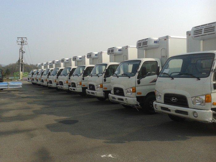 Xe tải hyundai hd72 đông lạnh nhập khẩu nguyên chiếc 1