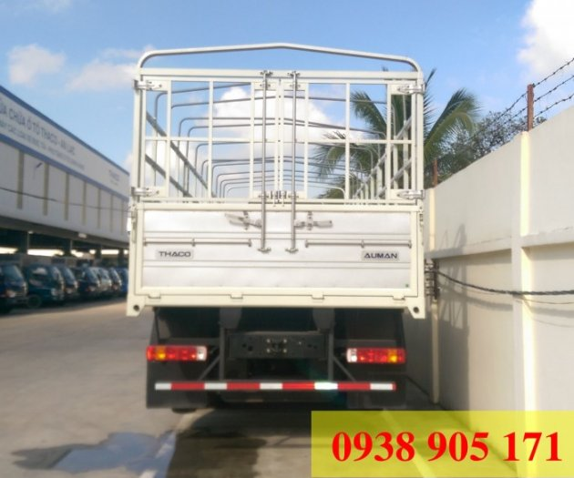 Bán xe 3 chân trả góp Auman C1500 tải trọng cao 14 tấn 8. Giò rút, xe mới 100% trả góp lãi suất thấp toàn quốc