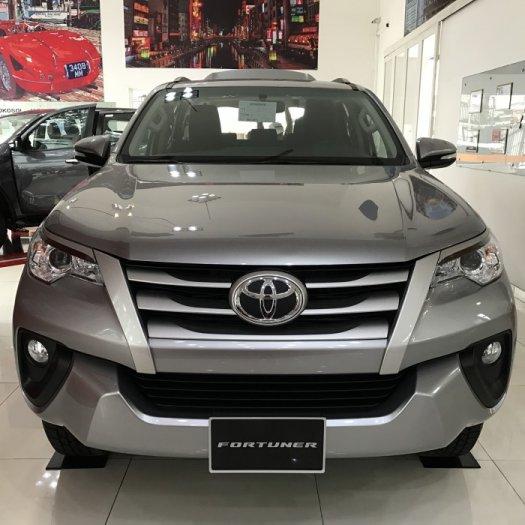 Bán Toyota Fortuner 2.4G, máy dầu, số sàn, Màu Bạc, giao ngay, trả góp lãi suất chỉ 0.5%