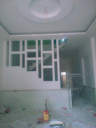 Nhà mới xây 1 trệt + 1 lầu tại cây xăng Vân Trúc Thuận Giao Thuận An