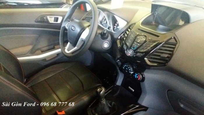 Ford Ecosport số sàn, hỗ trợ trả góp lãi suất thấp, tặng full phụ kiện, giao xe nhanh 11