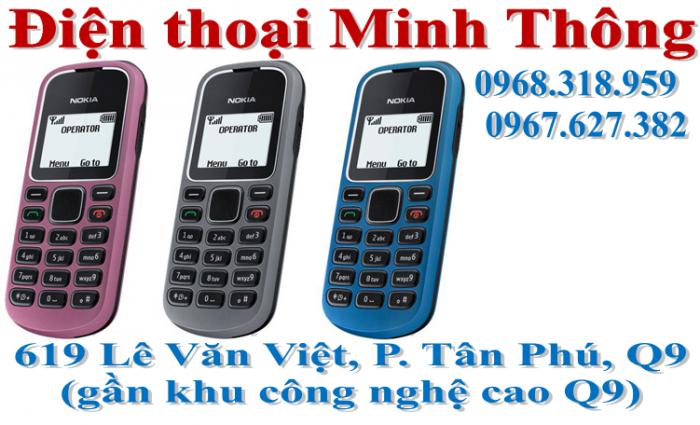 Điện thoại nokia 1280 giá rẻ quận 9, thủ đức, tp.hcm