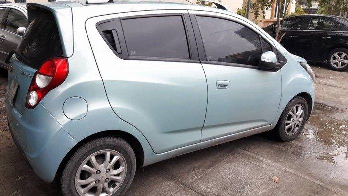 Ban Xe Chevrolet Spark Ltz đời 2014 Mau Xanh Ngọc Nhật Anh