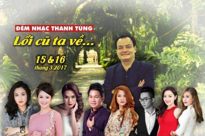 Mua vé đêm nhạc Thanh Tùng ở đâu Hà Nội
