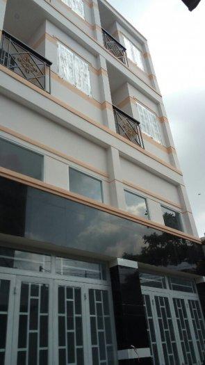 Nhà mới đường ao đôi 3x8m chính chủ đúc 1 lửng 2 lầu